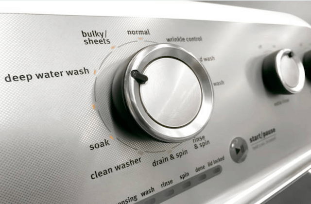 modern washing machine appliance